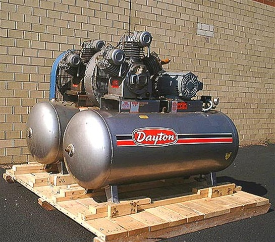 10 Hp Dayton Air Compressor With 120 Gallon Tank