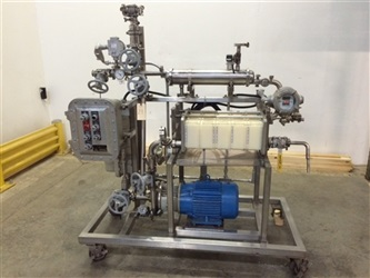 Millipore Filter Model MSD263W4 with 7.5hp XP Centrifugal Pump