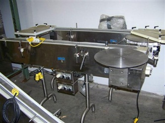 TL Industries Clean Room Sectional Conveyor Model CS1200