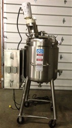 Stainless Steel Tank DCI 200 Liter With Agitation