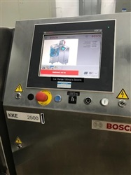 Bosch Model KKE 2500 High Speed Capsule Checkweigher