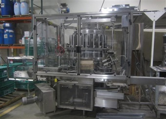 Consolidated Rotary Piston Filler Model RP221
