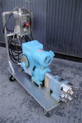 Waukesha Rotary Lobe Pump Model 30