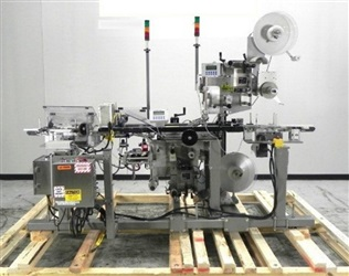 "Label-Aire Model 3115-1500-4"" Top & Bottom Labeler"