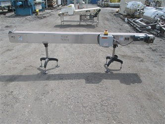 "Jem 6"" X 9.5' S/S Conveyor"