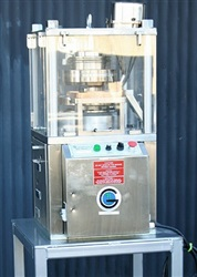 GlobePharma Rotary Tablet Press Model RSB-4- SOLD