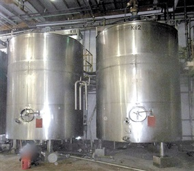DCI 6700 Gallon 316 S/S Jacketed Mix Tank
