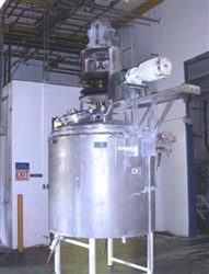 Lee 500 Gallon S/S Kettle Jacketed Double Motion Processor
