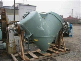 Patterson-Kelley 40CFT Twin Shell Solids Processor Dryer
