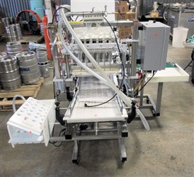 Meheen Monoblock Series M Filler-Crowner-Labeler - SOLD