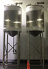 Feldmeier 800 Gallon 316L Stainless Steel Mix Tanks - SOLD