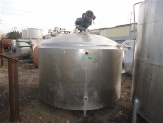 1200 Gallon S/S Jacketed Tank