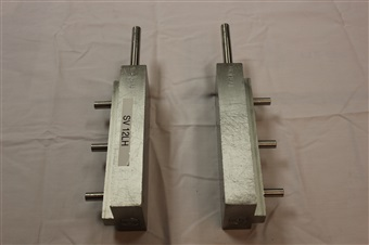 Two (2) Used Cozzoli S/S Slide Valves