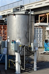 550 Gallon Stainless Steel Mix Tank