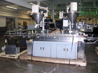All Fill Automatic Dual Head Auger Filler