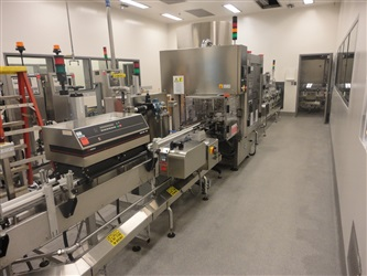 DT KALISH SWIFTPACK BOTTLE FILLING LINE, MODEL SV2 EFS3