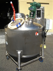 Allegheny Bradford 600 Liter Stainless Steel Jacketed Mix Tank -SOLD