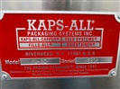 Kaps-All Model AU-6C Empty Bottle Unscrambler with Air Cleaner - SOLD