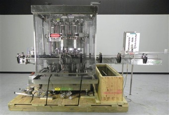 Serac Model DT16C 16-Head Liquid Piston Filler