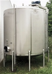 Cherry Burrell 10,000 Gallon Stainless Steel Mix Tanks-SOLD