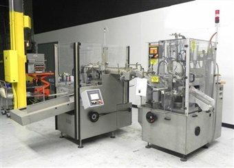 IWKA TFS10 Hot Air Tube Filler - SOLD