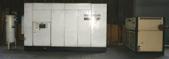 Ingersoll Rand Model EPE350-2S Two Stage Rotary Screw Compressor