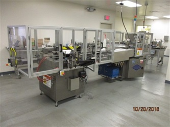 Bivans Model 74A707 Vertuck Fully Automatic Vertical Cartoner - SOLD