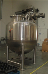 Jacketed Kettles Lee Model 400D9MSI 400 Gallon Dbl Motion Agitation