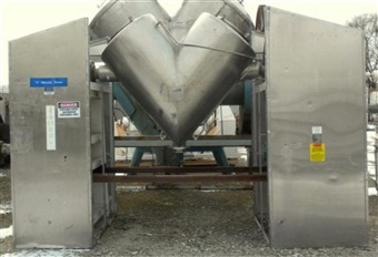 Gemco 20CFT Twin Shell Dryer Formulator