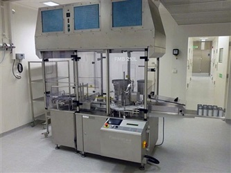 Flexicon Vial Filling, Stopping, Capping Machine, Model FMB210L