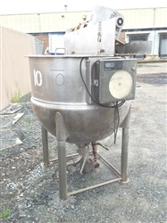 Lee MD# 200D9MSI 200 Gallon S/S Jktd Kettle with Agitation- SOLD