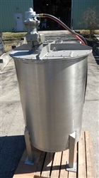 Custom MFG 225 Gallon S/S Mixing Tank-SOLD