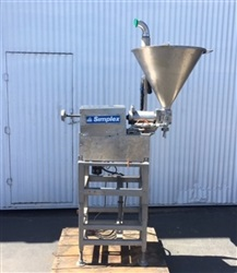 Simplex S/S Single-Piston Filler