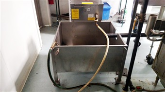 Superior Model# CF 250 Hot Oil Tortilla Fryer