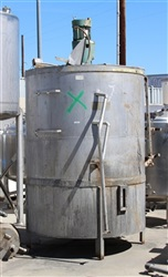1200 Gallon Stainless Steel Mix Tank