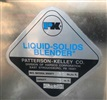 "Patterson-Kelley 3 CFT S/S Liquid Solids Twin Shell ""V"" Blender"