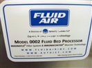 Fluid Air Model 0002 Fluid Bed Processor